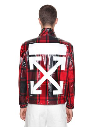 PRINTED ARROW CHECK TECH ANORAK