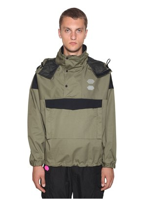 HOODED SKI MILITARY NYLON ANORAK