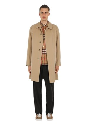 WESTMINSTER COTTON CANVAS COAT