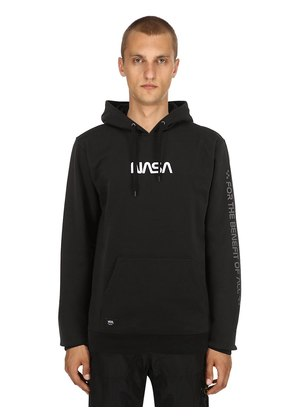 NASA SPACE HOODED FLEECE SWEATSHIRT