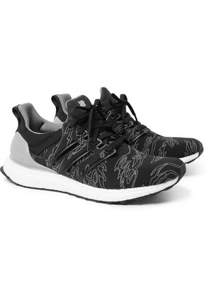 + Undefeated Ultraboost Rubber-trimmed Primeknit Sneakers