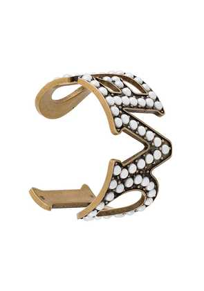 Gucci Love cuff bracelet - Metallic