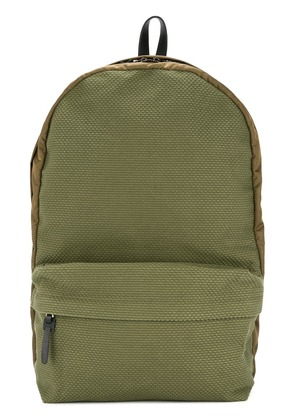 Cabas contrast panel backpack - Green