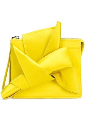 No21 Iconic bow clutch - Yellow
