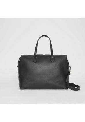 Burberry Soft Leather Holdall, Black