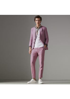 Burberry Soho Fit Linen Tailored Jacket, Pink