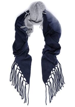 Autumn Cashmere Woman Scarves Navy Size -