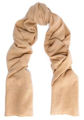 Autumn Cashmere Woman Scarves Beige Size -