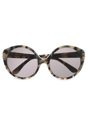 Roland Mouret Woman Round Frame Taupe Size -