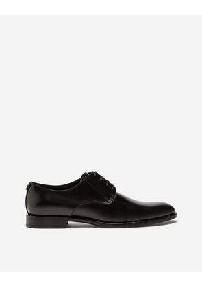 Dolce & Gabbana Lace-Ups - BRUSHED CALFSKIN DERBY SHOES BLACK