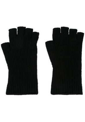 Julius fingerless gloves - Black