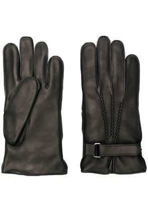 Orciani strap detail gloves - Black