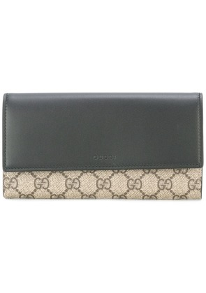 Gucci logo print wallet - Black