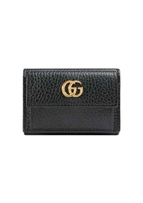 Gucci GG Mermont Leather Wallet - Black