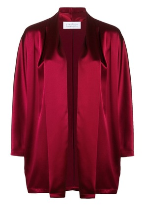 Gianluca Capannolo oversized jacket - Red