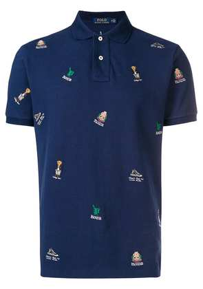 Polo Ralph Lauren embroidered polo shirt - Blue