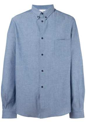 Golden Goose Deluxe Brand chest pocket shirt - Blue
