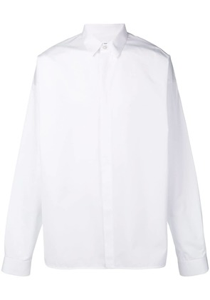Jil Sander dropped shoulder shirt - White