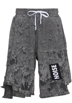 Liam Hodges Rave washed shorts - Grey