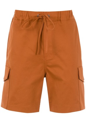 Egrey cargo shorts - Brown