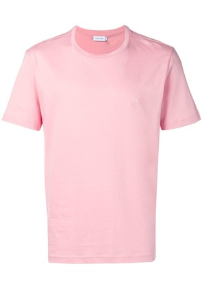 Calvin Klein initial embroidered T-shirt - Pink