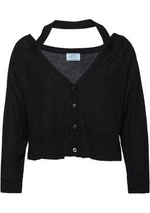 Prada Wool cardigan - Black