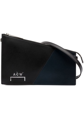A-Cold-Wall* A-COLD-WALL* B8 nabl LEATHER/CANVAS - Black