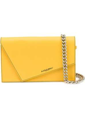 A-Cold-Wall* A-COLD-WALL* B10 AMBE CANVAS/LEATHER - Yellow