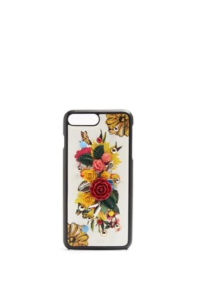 Dolce & Gabbana - Majolica Print Iphone® 7 Plus Case - Womens - Multi