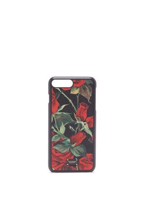 Dolce & Gabbana - Iphone® 7/8 Rose Print Case - Womens - Black Red