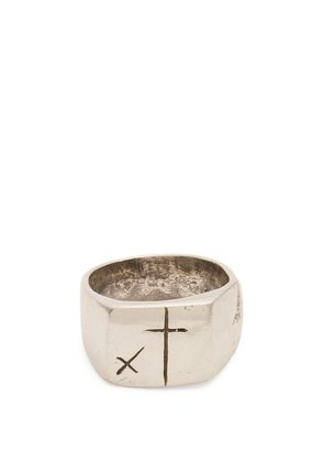 Aris Schwabe - Foul Sterling Silver Ring - Mens - Silver