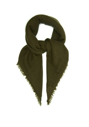 From The Road - Adri Wool Blend Scarf - Mens - Green