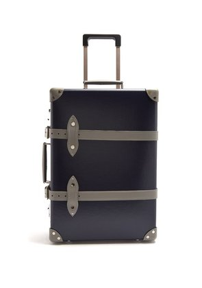 Globe-trotter - X Matchesfashion.com Centenary 20 Cabin Suitcase - Mens - Navy Multi