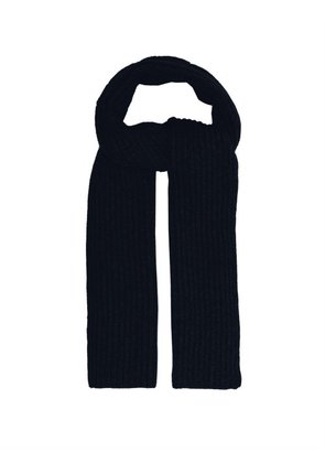 Thom Sweeney - Ribbed Cashmere Scarf - Mens - Blue