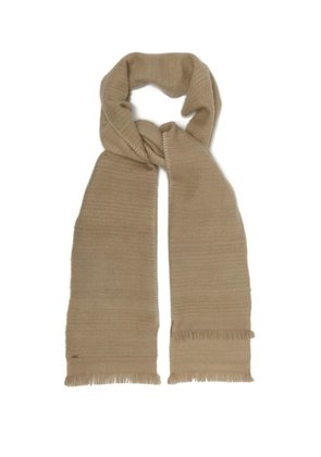 From The Road - Padra Cashmere Scarf - Mens - Beige
