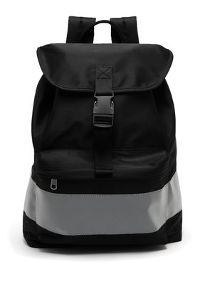 A.p.c. - Telio Fluorescent Band Backpack - Mens - Black