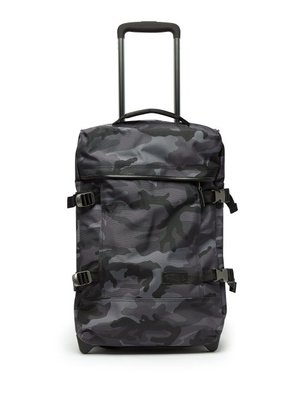 Eastpak - Tranverz Small Camouflage Print Cabin Suitcase - Mens - Grey