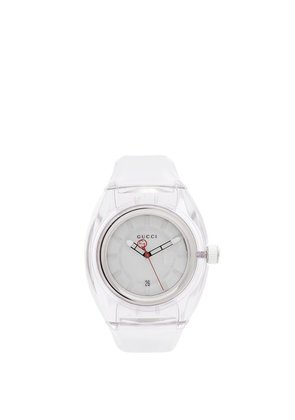 Gucci - Sync Rubber Watch - Mens - Clear Multi