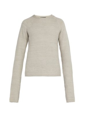 Denis Colomb - Long Sleeved Cashmere Sweater - Mens - Beige