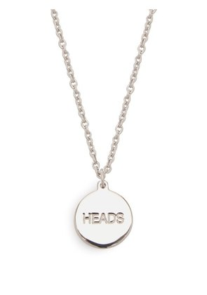 A.p.c. - Heads And Tails Necklace - Mens - Silver
