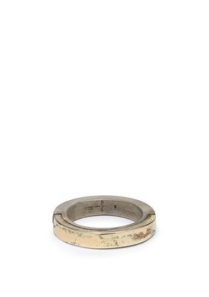 Parts Of Four - Sistema 18kt Gold Plated & Sterling Silver Ring - Mens - Gold