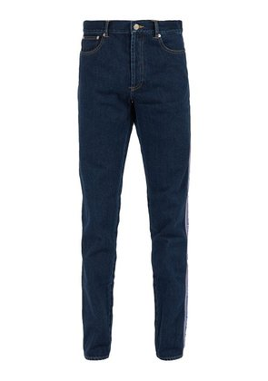 Givenchy - Logo Side Stripe Slim Fit Jeans - Mens - Indigo