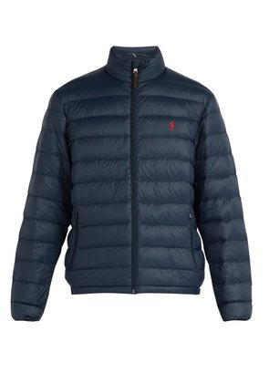 Polo Ralph Lauren - Quilted Down Filled Jacket - Mens - Navy