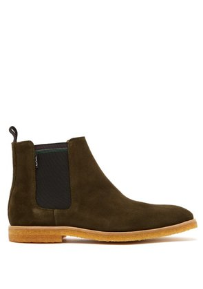 Paul Smith - Andy Suede Chelsea Boots - Mens - Khaki