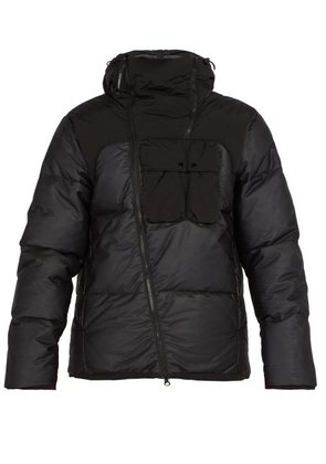 C.p. Company - Goggle Down Filled Jacket - Mens - Black