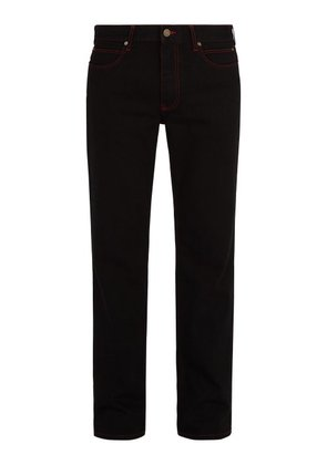 Calvin Klein 205w39nyc - Dennis Hopper Patch Jeans - Mens - Black