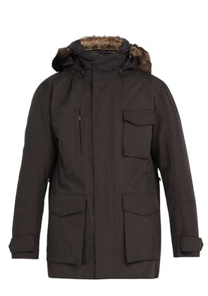 49 Winters - The Brompton Dual Layered Utility Parka - Mens - Black
