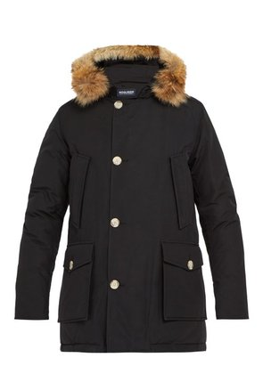 Woolrich John Rich & Bros. - Arctic Down Filled Hooded Parka - Mens - Black