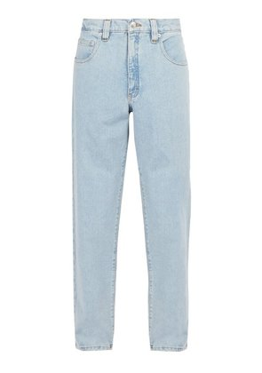 Perry Ellis America - Light Wash Straight Leg Jeans - Mens - Blue