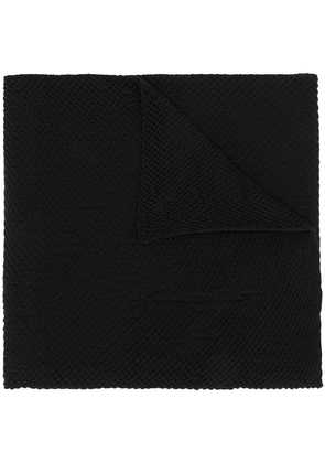 Forme D'expression Goffre scarf - Black